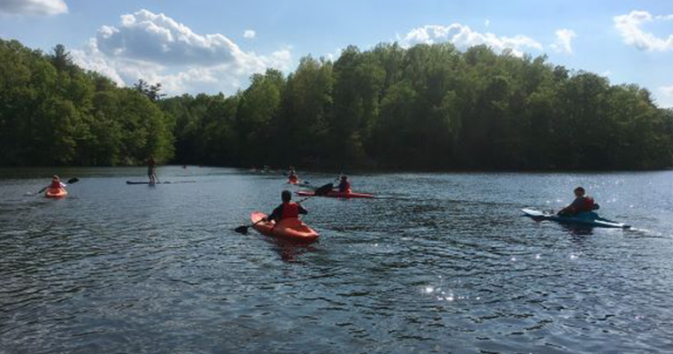 Intro to Kayaking at Beaver Creek Reservoir (Off Site)