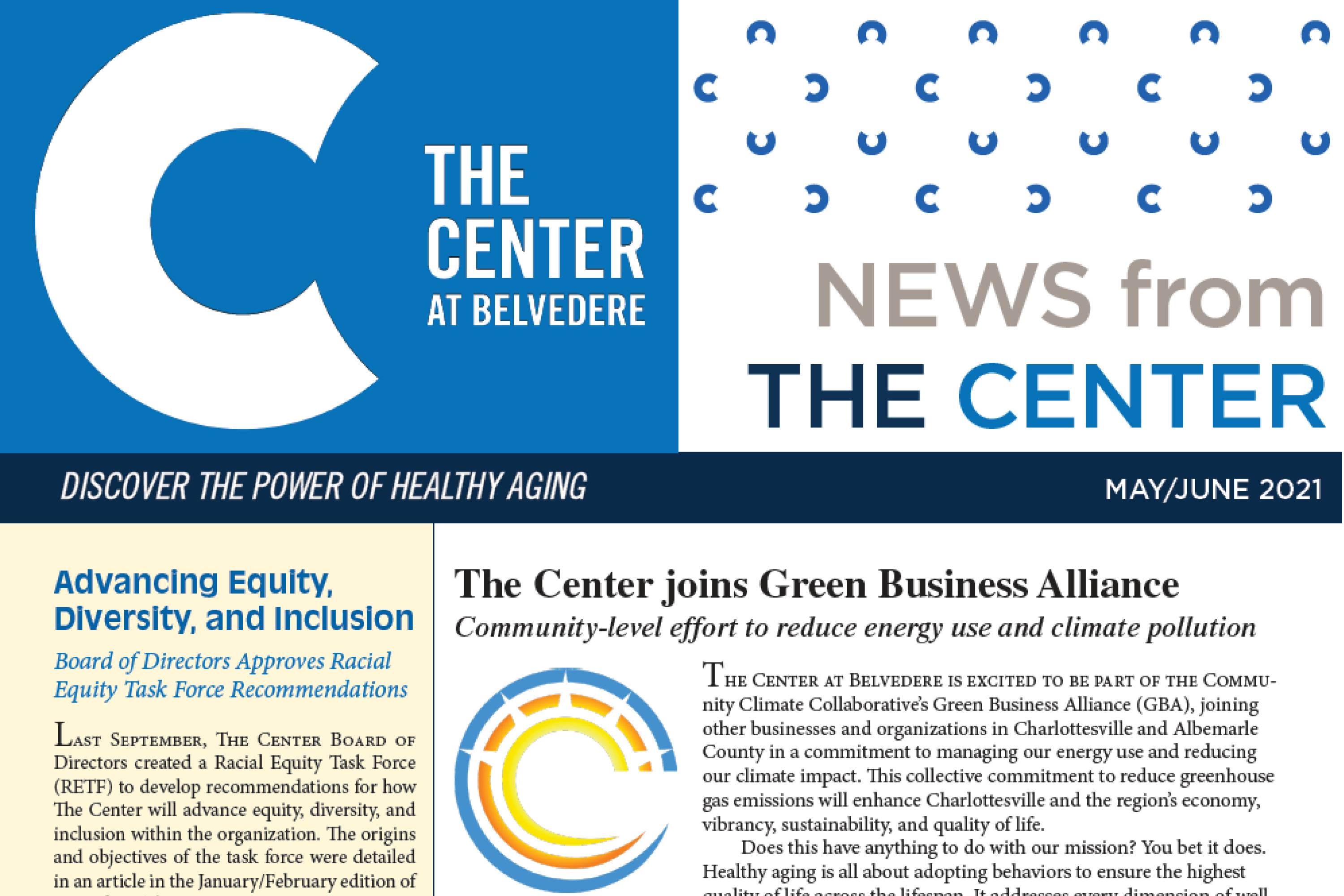 News from The Center